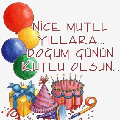 how to say happy birthday in turkish