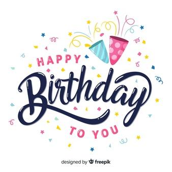 Happy Birthday Vectors, Photos and PSD files.