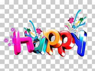 878 happy Birthday Word PNG cliparts for free download.