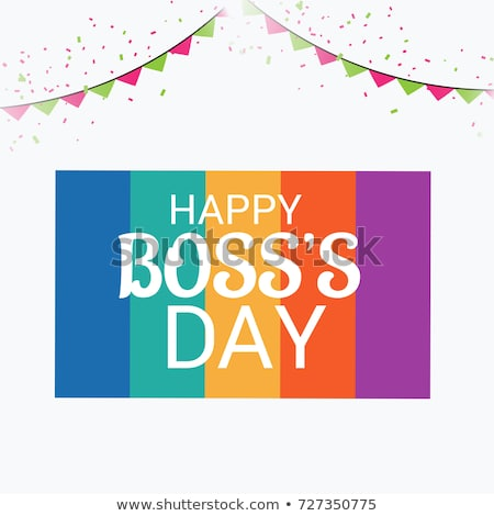 Bosses Day Free Vector Art.