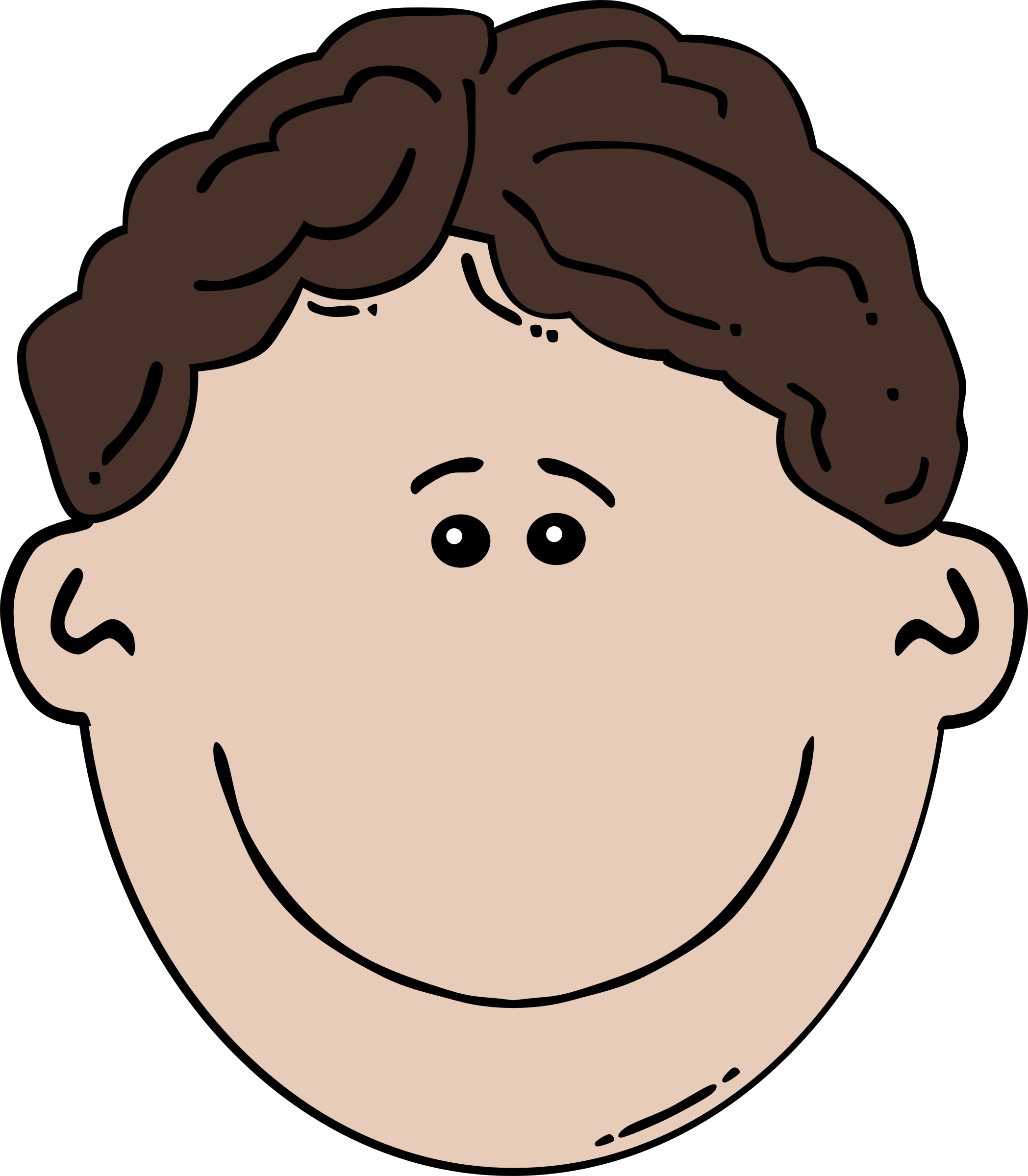 Boy Face Clipart Png.