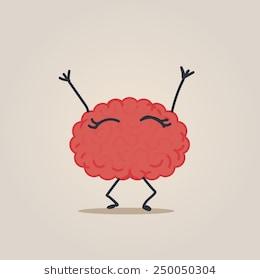 Happy Brain Character #62459.