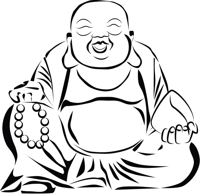 fat buddah coloring pages - photo#11