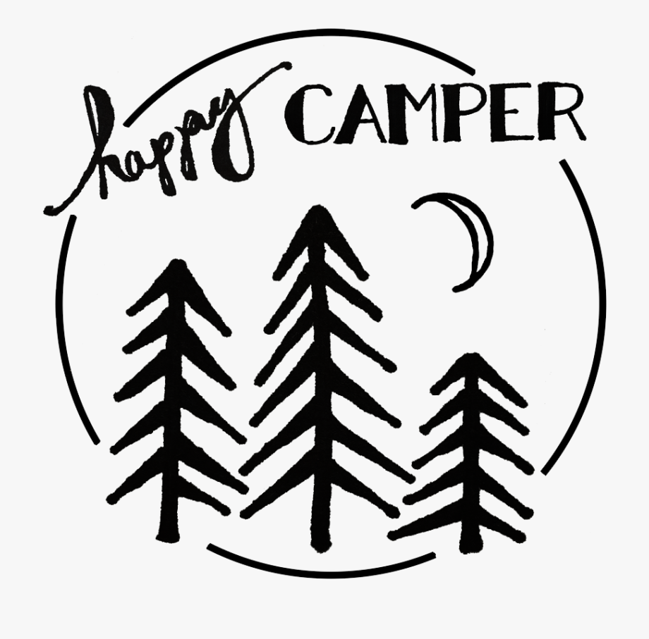 Eat Sleep Make Happy Camper Iron On Transfer T Shirt.
