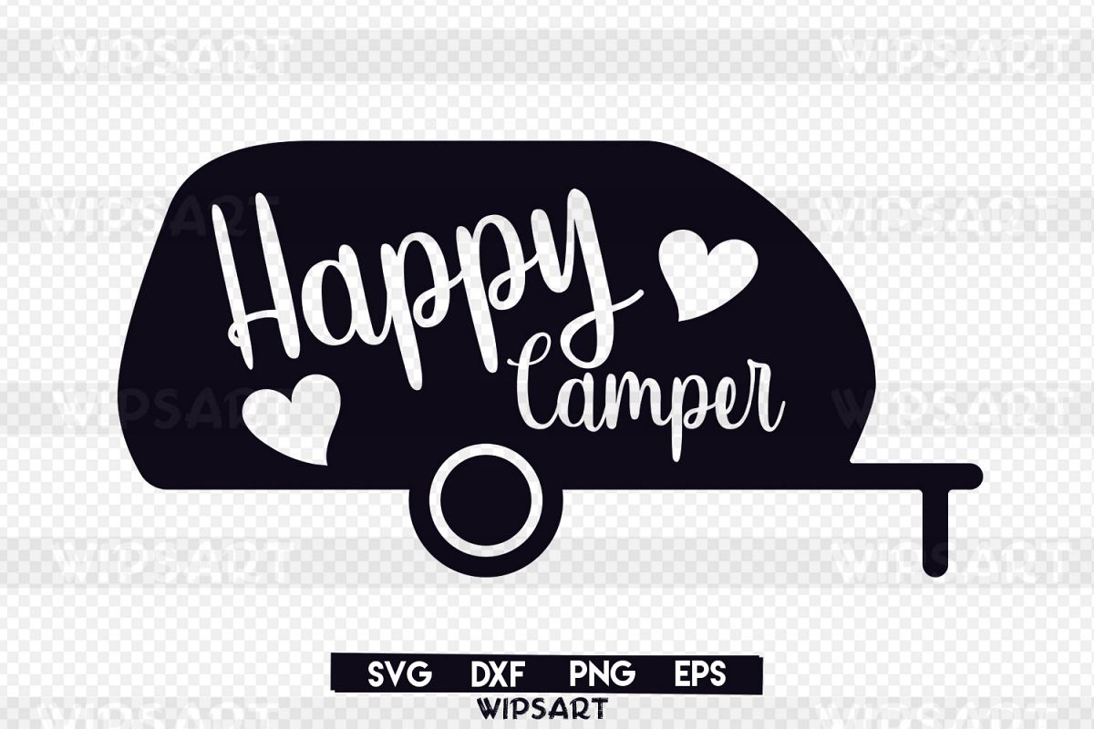 Happy camper clipart black and white 6 » Clipart Station.