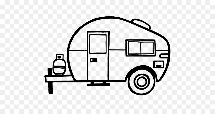 Free Happy Camper Silhouette, Download Free Clip Art, Free.