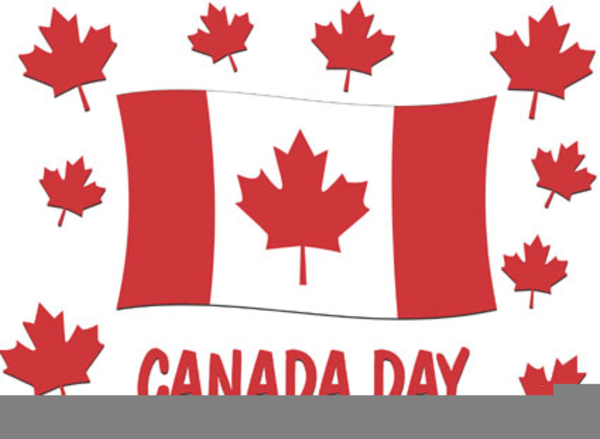 Happy Canada Day Clipart.