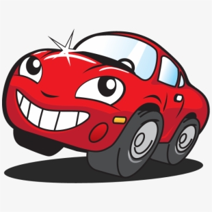 Happy Mr Kleen Red Car.