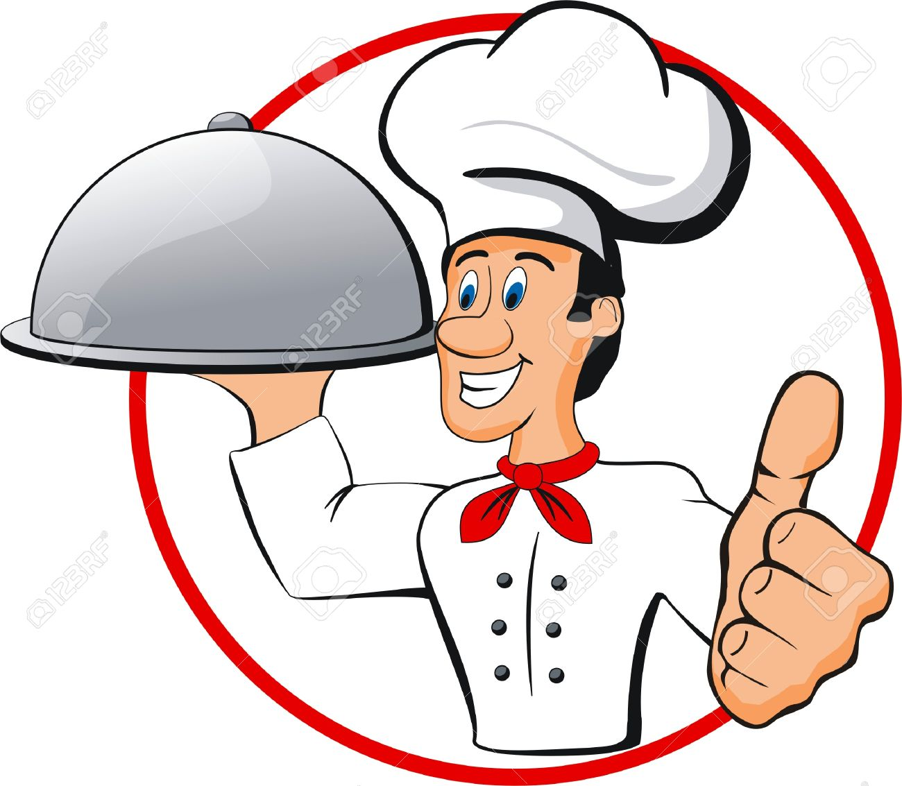 Happy Chef Royalty Free Cliparts, Vectors, And Stock Illustration.