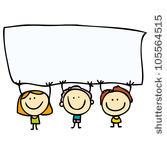 happy children clipart #5
