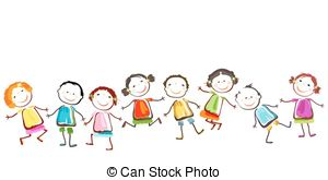 Happy children Clip Art Vector Graphics. 144,513 Happy children.