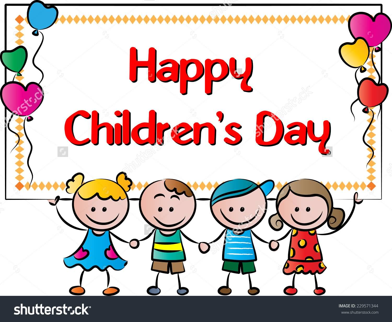Clipart On Children\'s Day.
