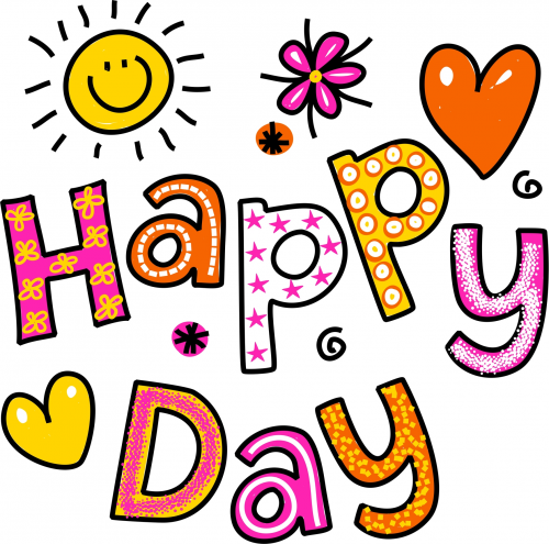 Happy Day Printable.