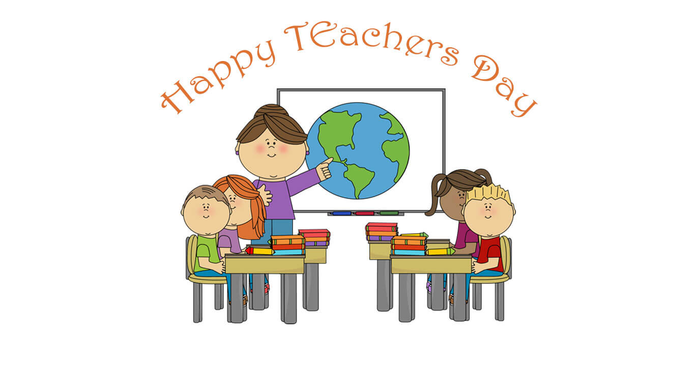 Students And Teacher In A Classroom Clipart, Hd Wallpapers.
