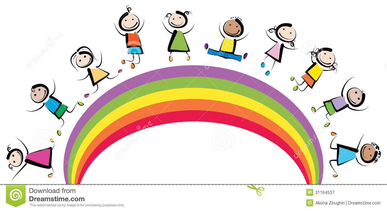 Happy Kids Clipart.