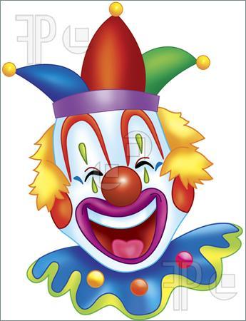 Happy Clown Clipart.