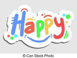 Happy color Clip Art Vector Graphics. 148,890 Happy color EPS.