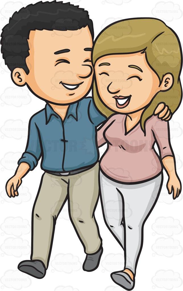 A Happy Couple.