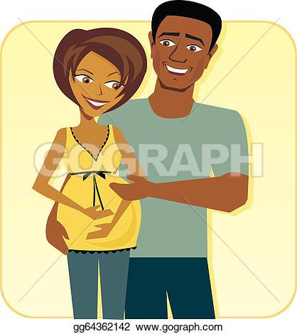 Happy Couple Clip Art.