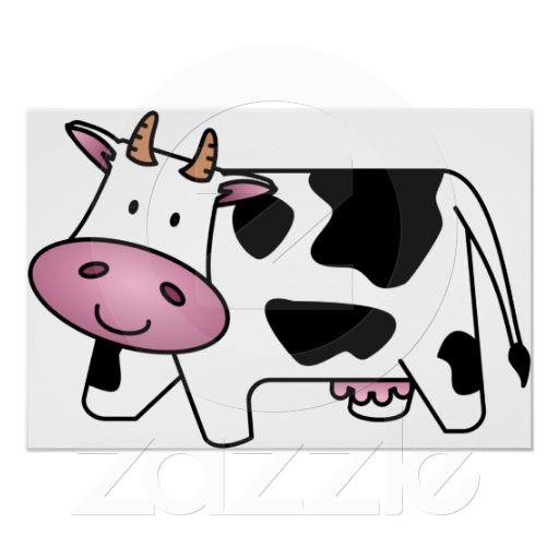 Happy Cow Poster.