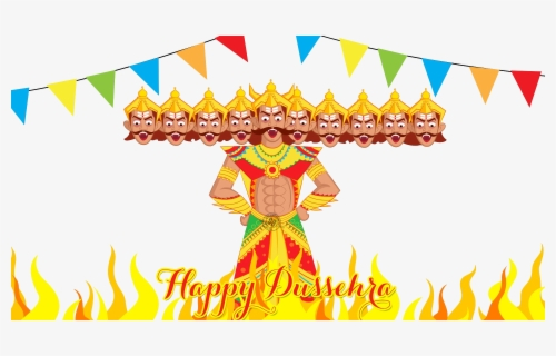 Free Dussehra Clip Art with No Background.