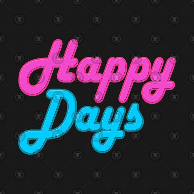 Happy Days Logo.