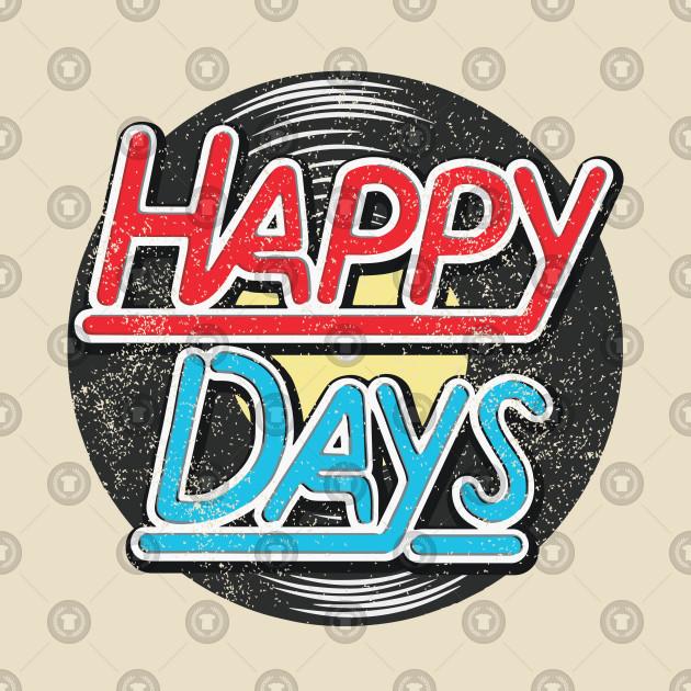 Happy Days TV Show Series 80s Rockabilly 50s.