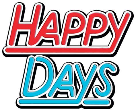 Happy days Logos.