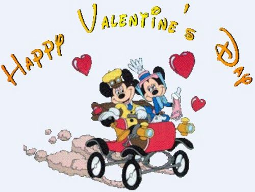 Disney Valentines Day Clipart Images.