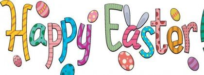 Happy Easter Banner Clip Art – Merry Christmas And Happy ...