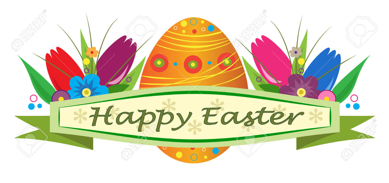 happy easter banner clipart - Clipground