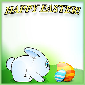 Free Easter Borders.