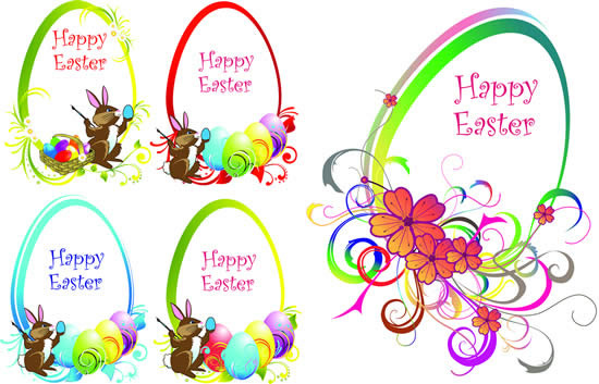 Happy easter border art free vector download (221,775 Free.