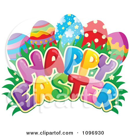 Happy easter clipart #11