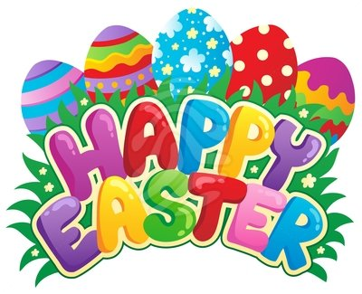 Happy easter clipart #14