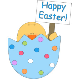Happy easter clipart #4