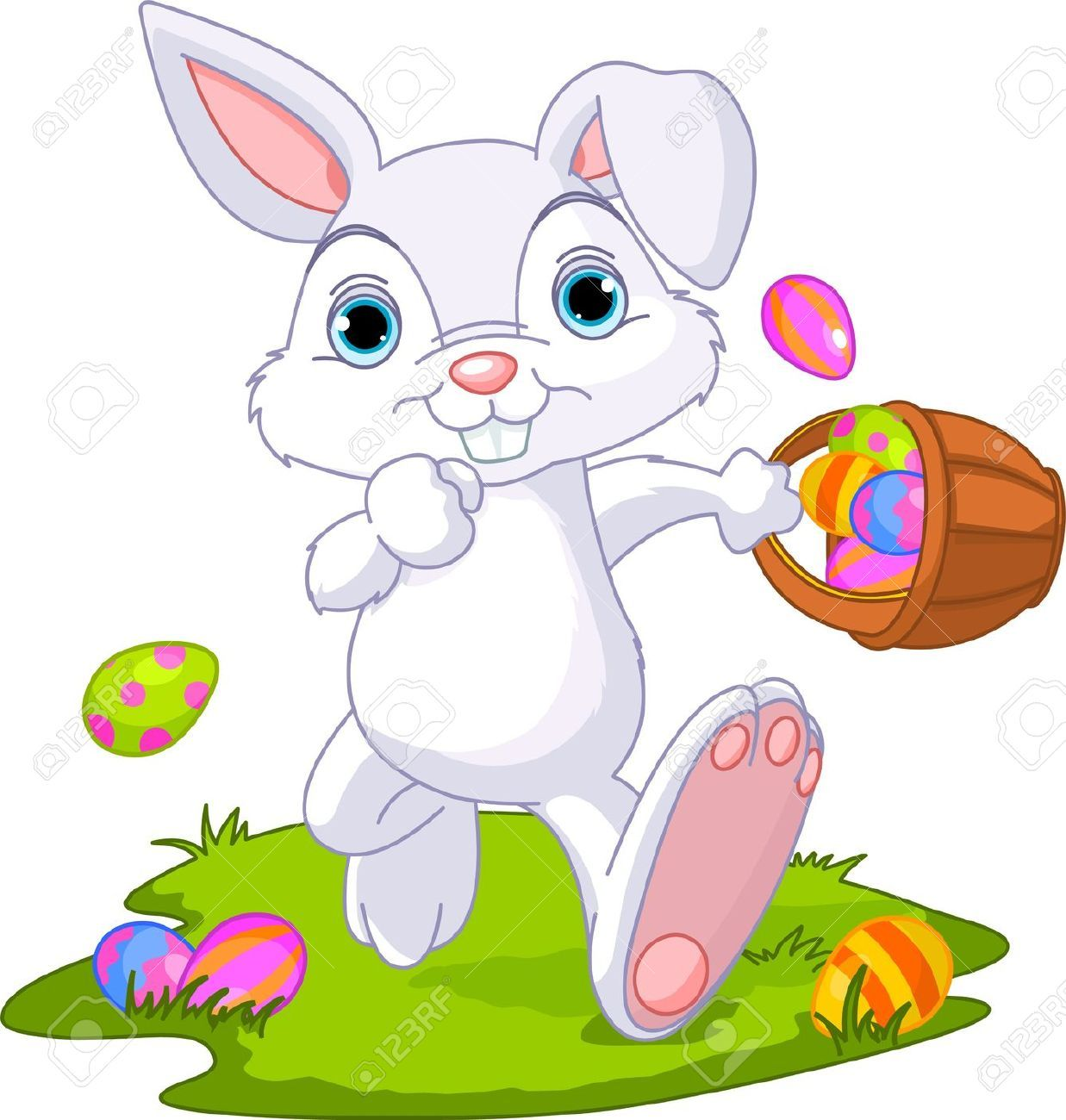Latest Easter Bunny Clipart Free Download.