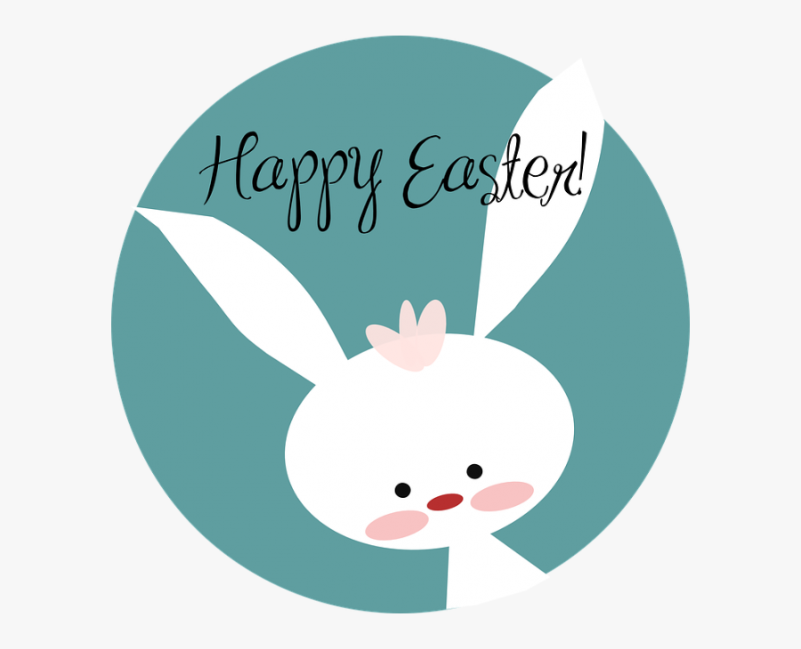 Happy Easter Clipart Kid.