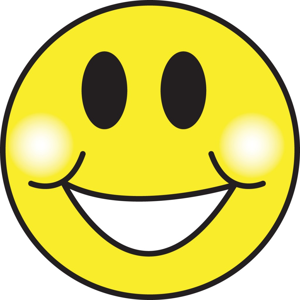 Excited Smiley Face Clipart.