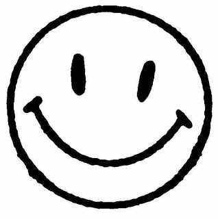 Smiley Face Clipart Black And White.