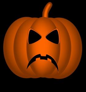 Pumpkin Happy Face Clipart#2197335.