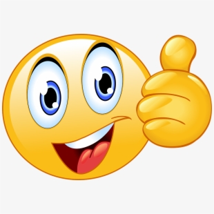 Thumbs Up Smiley Face Emoji Happy Smiley Face.