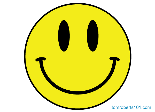 Acid Smiley Face Vector Free.