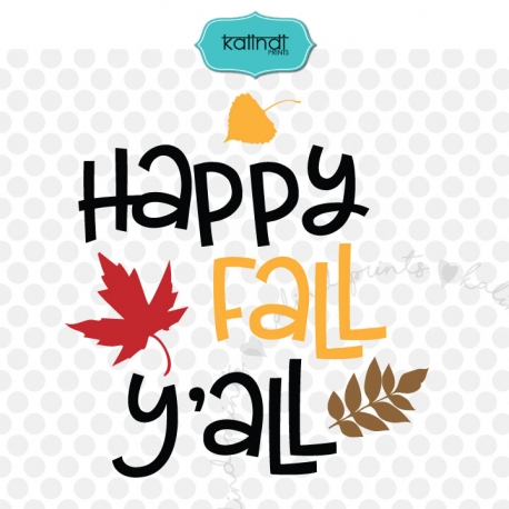 Happy fall yall SVG, fall SVG, fall decor, fall signs.