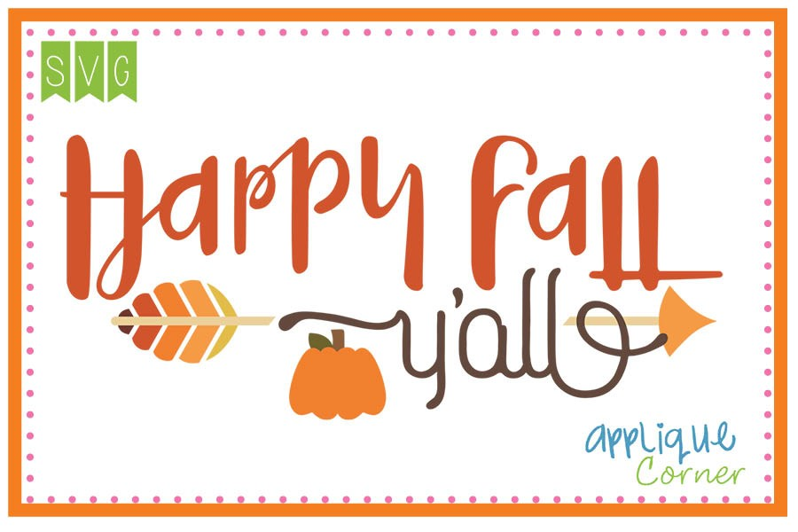 Happy fall y all clipart 8 » Clipart Station.