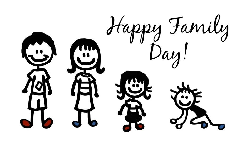 35 Adorable Happy Family Day 2016 Wish Pictures.