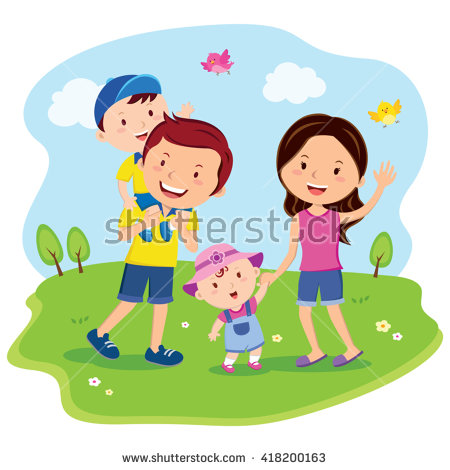 Family Day Stock Images, Royalty.