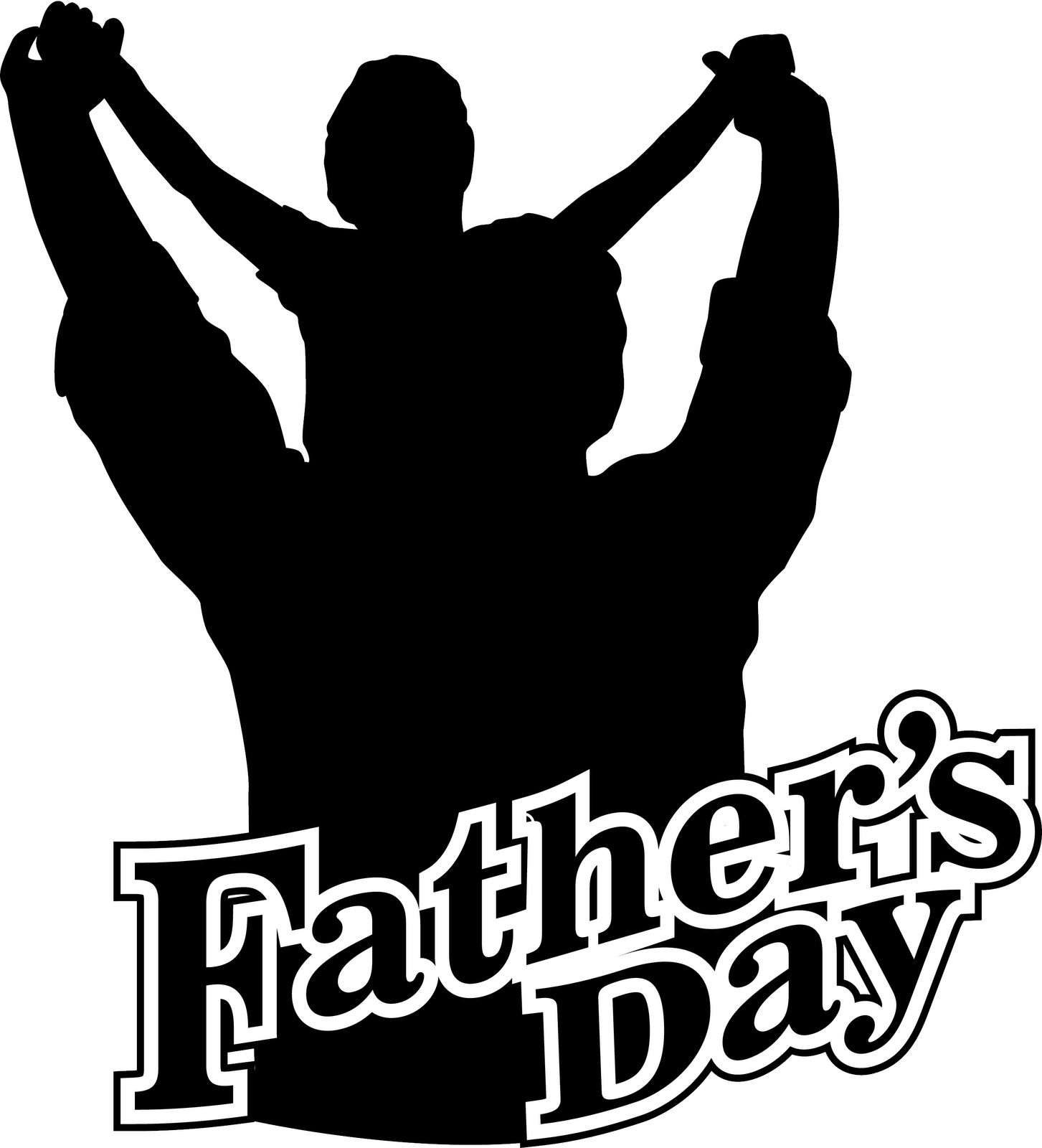 Happy Fathers Day Donut Clipart.