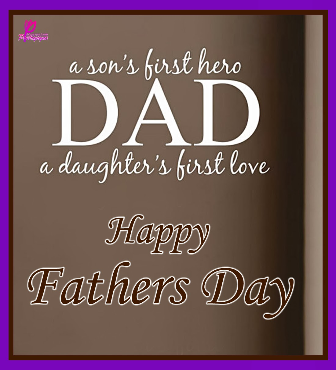 Happy Fathers Day From Your Son And Daughter Clipart.