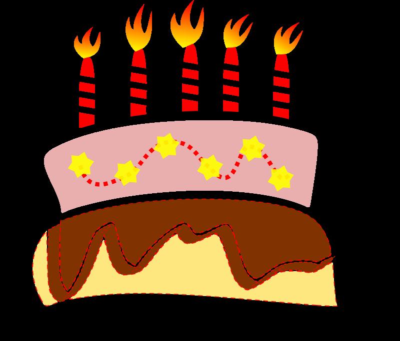 Free Birthday Cake Clipart.